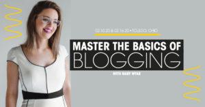 toledo blogger workshop blogging basics